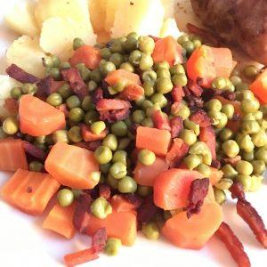 vegetarische spekjes
